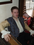 Stephano de Courci. Isn't he louche? Isn't he Regency? Don't you just want to kill him and steal his doublet?